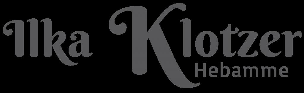 Ilka Klotzer Hebamme Logo